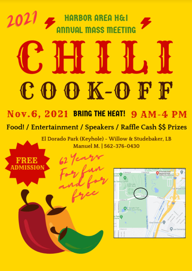 H&I 2021 Chili Cook-Off